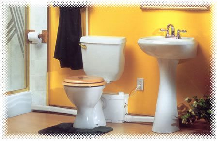 SaniPro Upflush Toilet